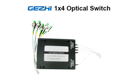 چین 1x4 Opto Mechanical Optical Fiber Switch Module For OXC System Monitoring کارخانه