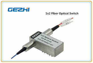 چین Smallest Fiber Optical Switch 1x2 Fiber Optical Switch For System Monitoring کارخانه