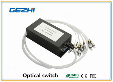 چین 1x N Single mode Optical Switch Fiber Optics Components for telecommunications کارخانه