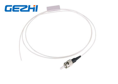 چین ST UPC SM SX Fiber Optic Pigtail Single Mode Simplex White Cable for FTTB توزیع کننده